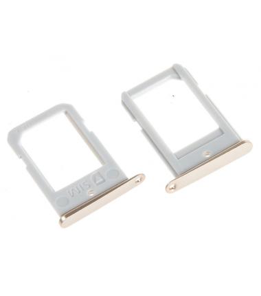 Tiroir SIM pour Samsung Galaxy S6 Edge (G925F) Or
