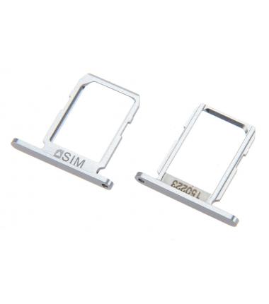 Tiroir SIM pour Samsung Galaxy S6 (G920F) Argent