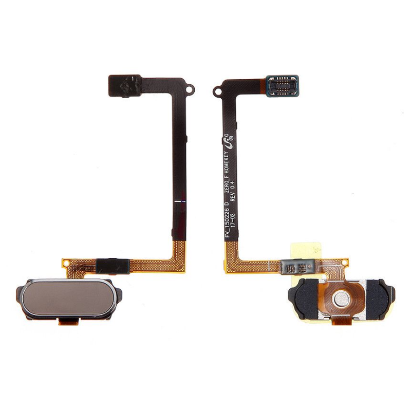 Bouton Home pour Samsung Galaxy S6 (G920F) Or