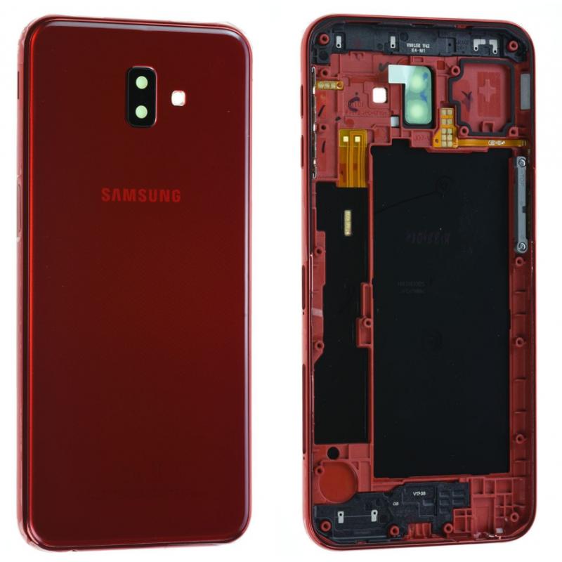 Face arrière Samsung Galaxy J6+ 2018 (J610F) Rouge