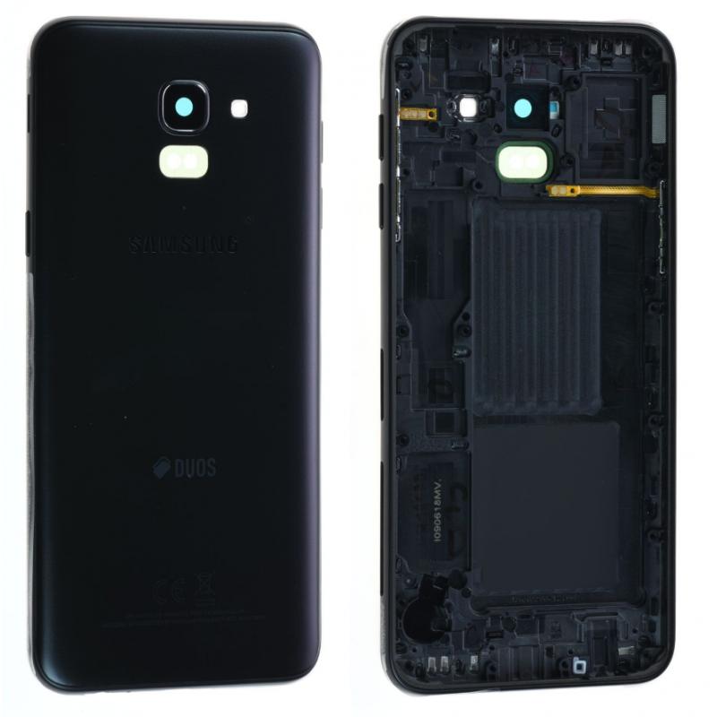 Face arrière Samsung Galaxy J6 2018 (J600F) Noir