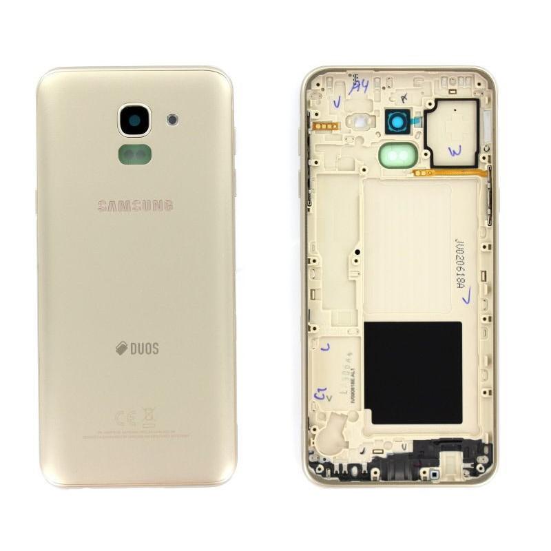 Face arrière Samsung Galaxy J6 2018 (J600F) Or
