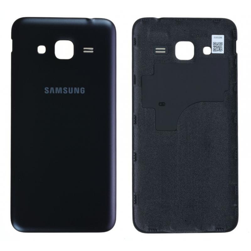 Face arrière Samsung Galaxy J3 2016 (J320F) Noir