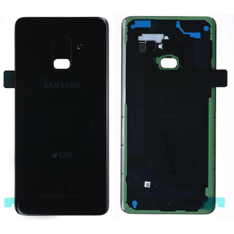 Face arrière Samsung Galaxy A8 2018 (A530F) Noir (Duos)