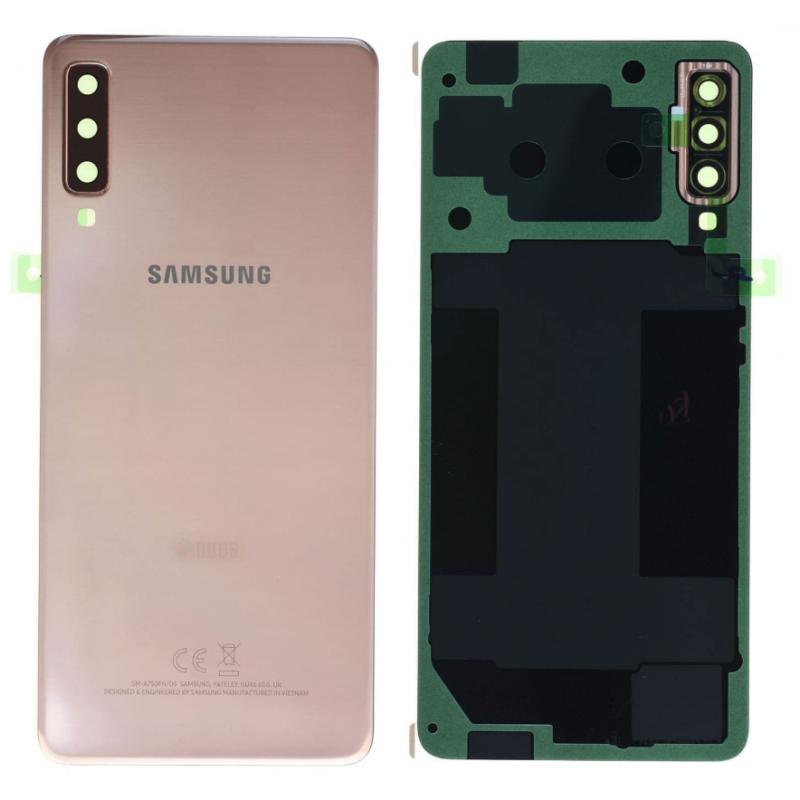 Face arrière Samsung Galaxy A7 2018 (A750F) Or (Duos)