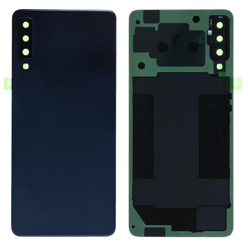 Face arrière Samsung Galaxy A7 2018 (A750F) Noir