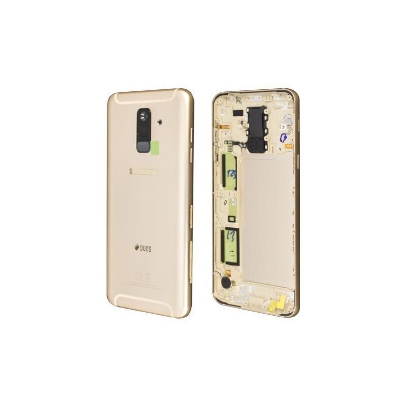 Face arrière Samsung Galaxy A6+ 2018 (A605F) Or (Duos)