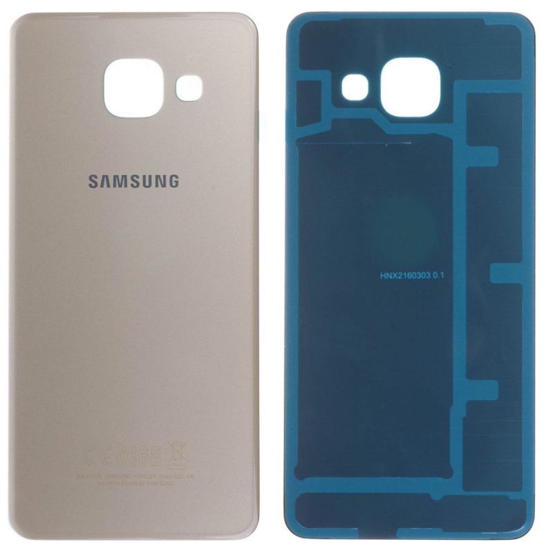 Face arrière Samsung Galaxy A3 2016 (A310F) Or