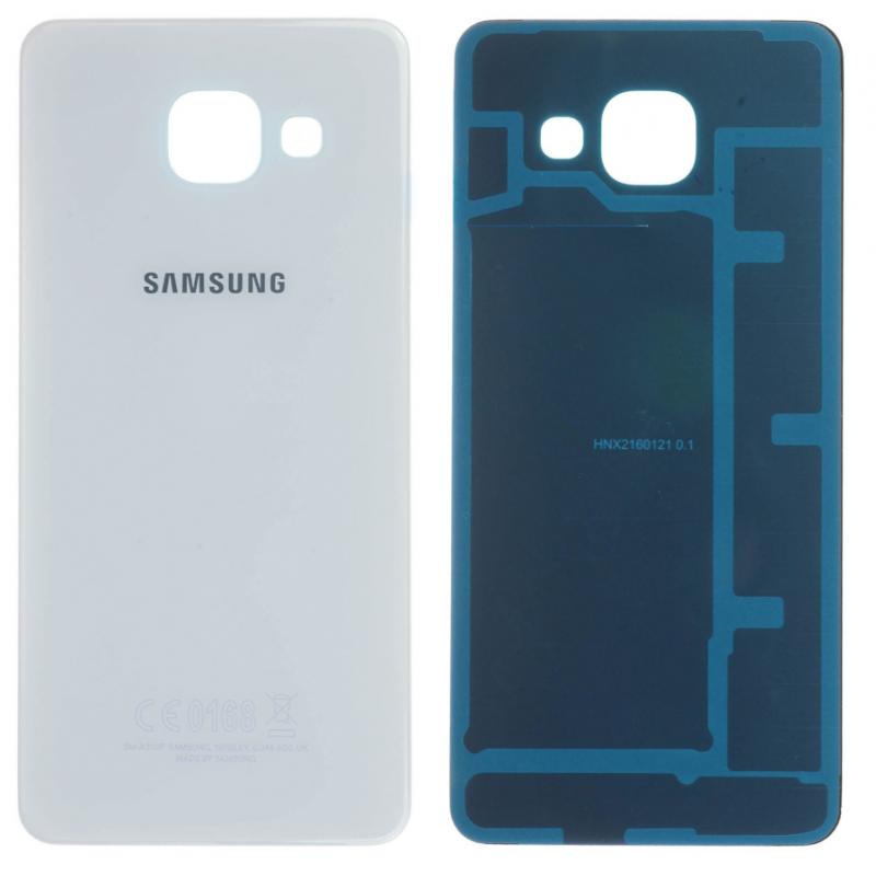 Face arrière Samsung Galaxy A3 2016 (A310F) Blanc
