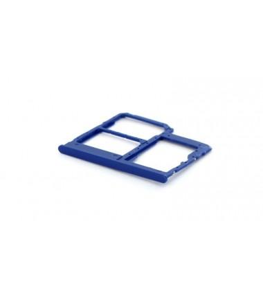Tiroir SIM/SD Samsung Galaxy A40 (A405F) Bleu