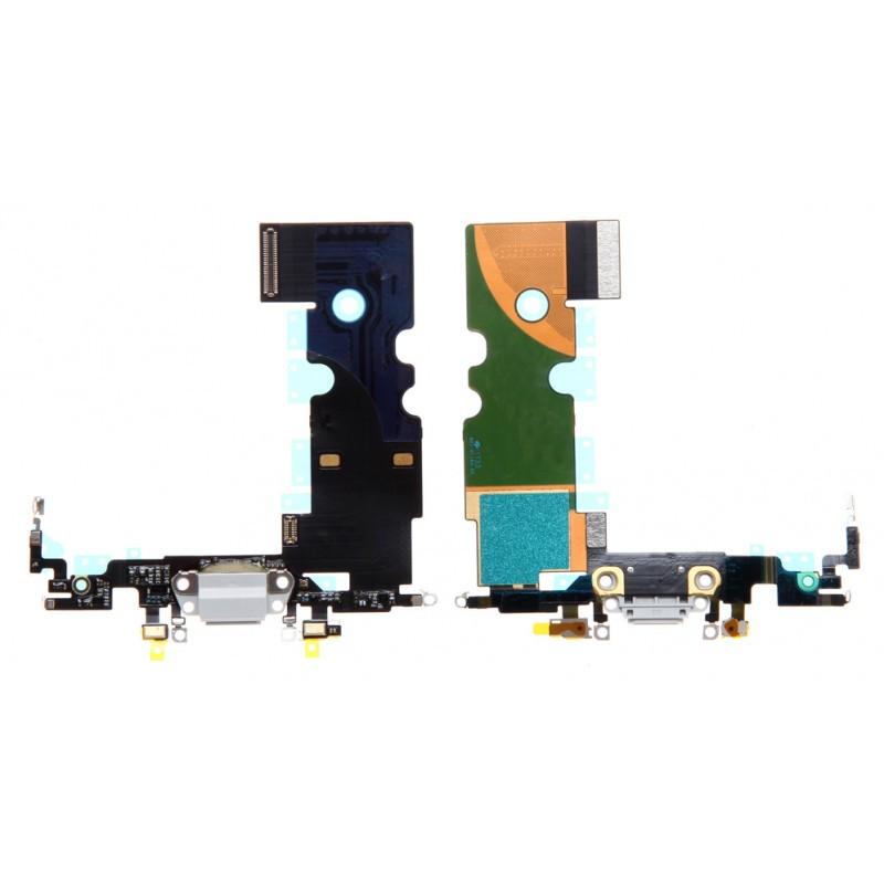 Connecteur de charge iPhone 8 / SE 2020 Blanc