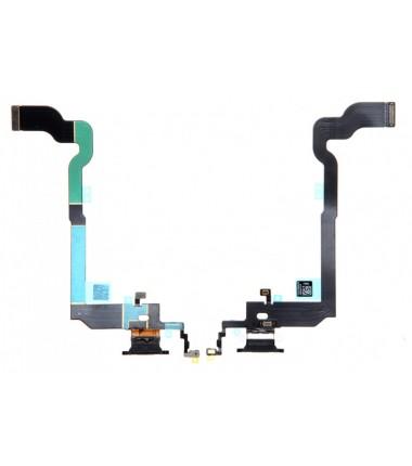 Connecteur de charge iPhone X Noir