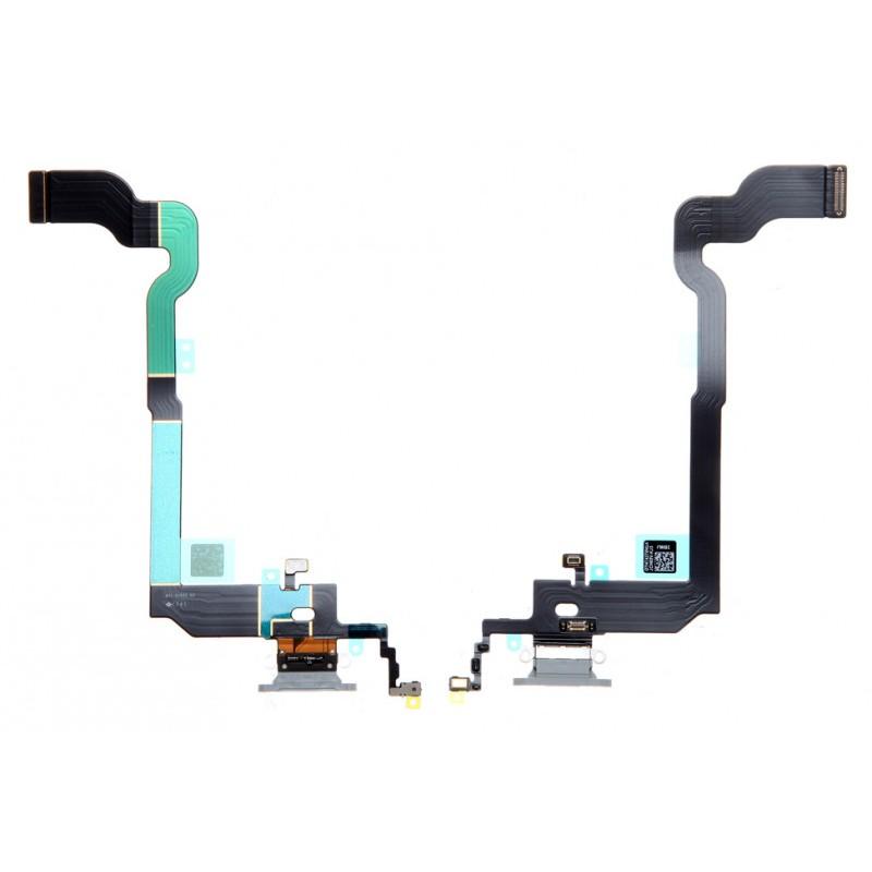 Connecteur de charge iPhone X Blanc