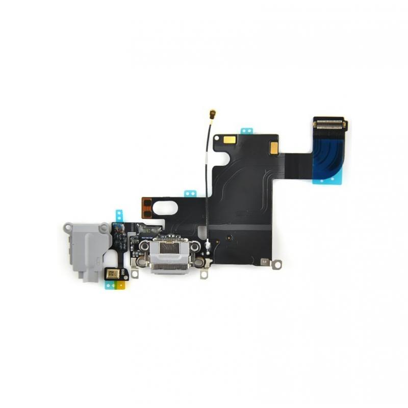 Connecteur de charge iPhone 6 Gris