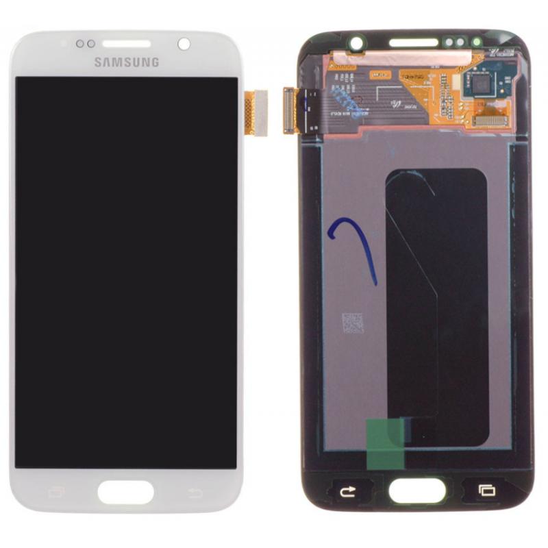 Ecran Samsung Galaxy S6 (G920F) Blanc