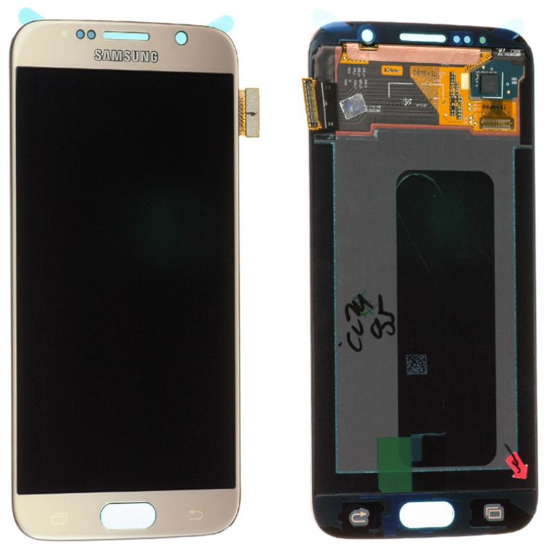 Ecran Samsung Galaxy S6 (G920F) Or