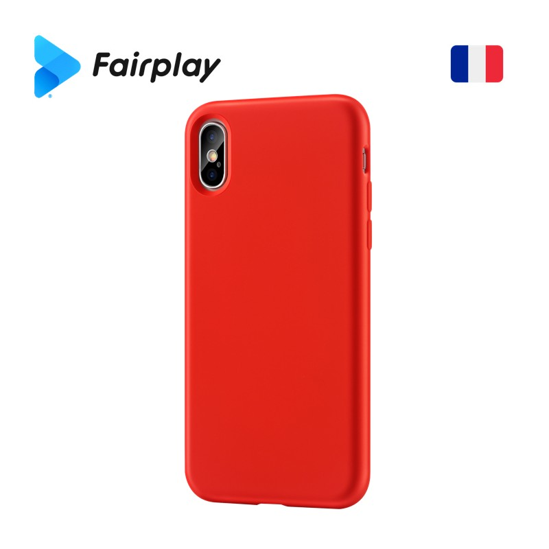 Coque Fairplay Sirius iPhone 7/8 Rouge