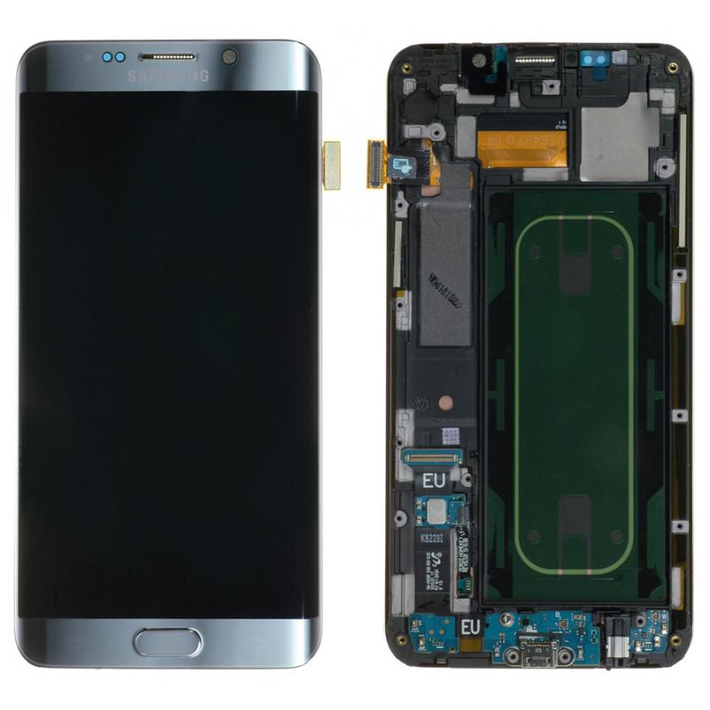 Ecran Complet Samsung Galaxy S6 Edge+ (G928F) Argent