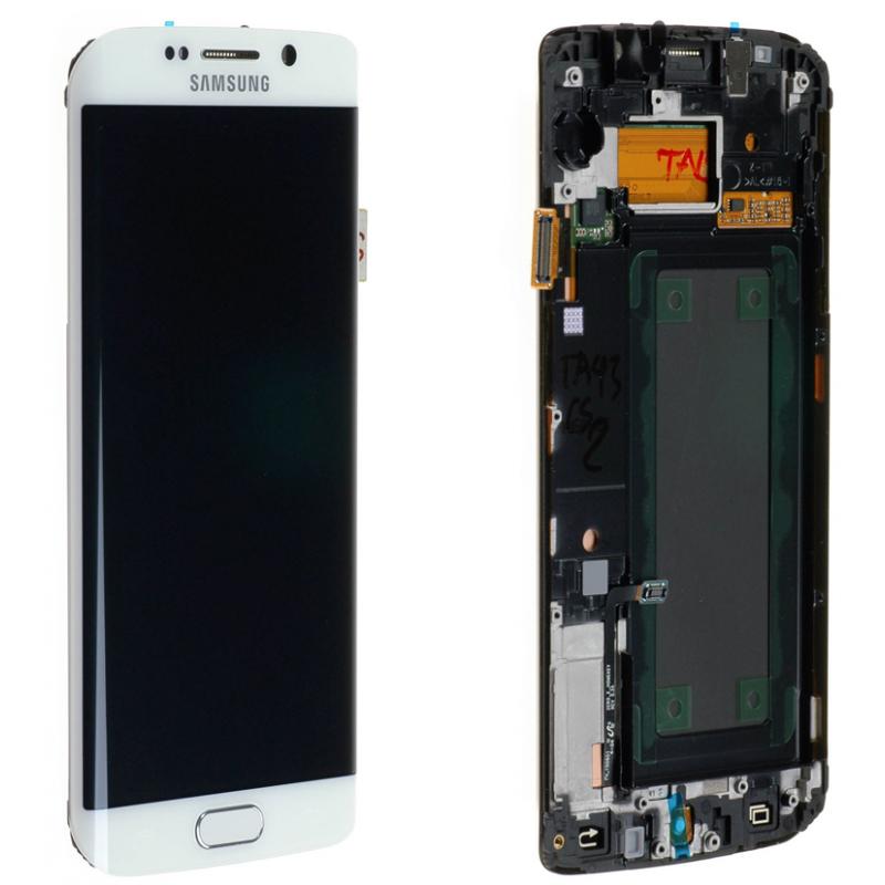 Ecran Samsung Galaxy S6 Edge (G925F) Blanc