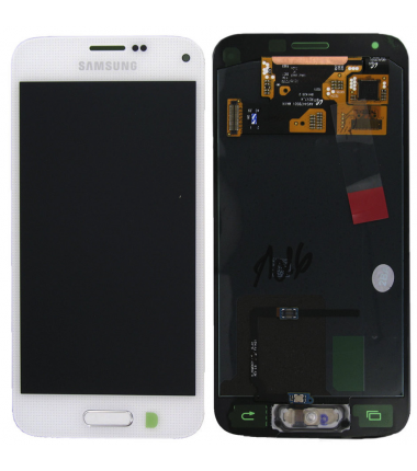 Ecran Samsung Galaxy S5 mini (G800F) Blanc