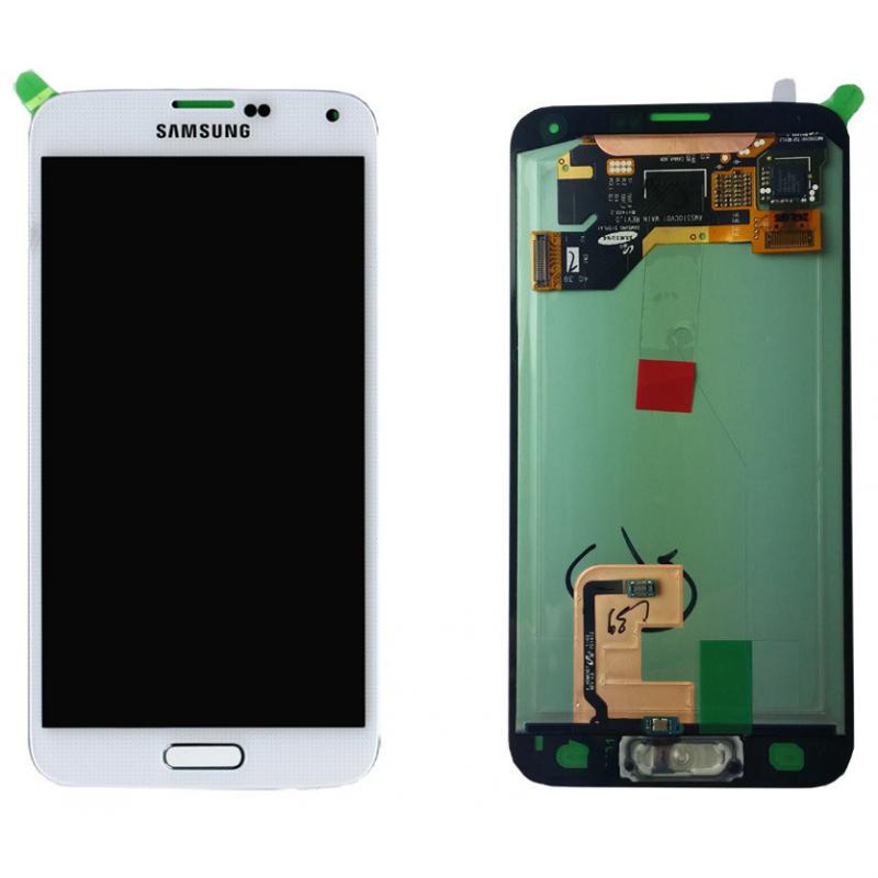 Ecran Samsung Galaxy S5/S5+ (G900F/G901F) Blanc