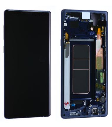 Ecran Complet Samsung Galaxy Note 9 (N960F) Bleu