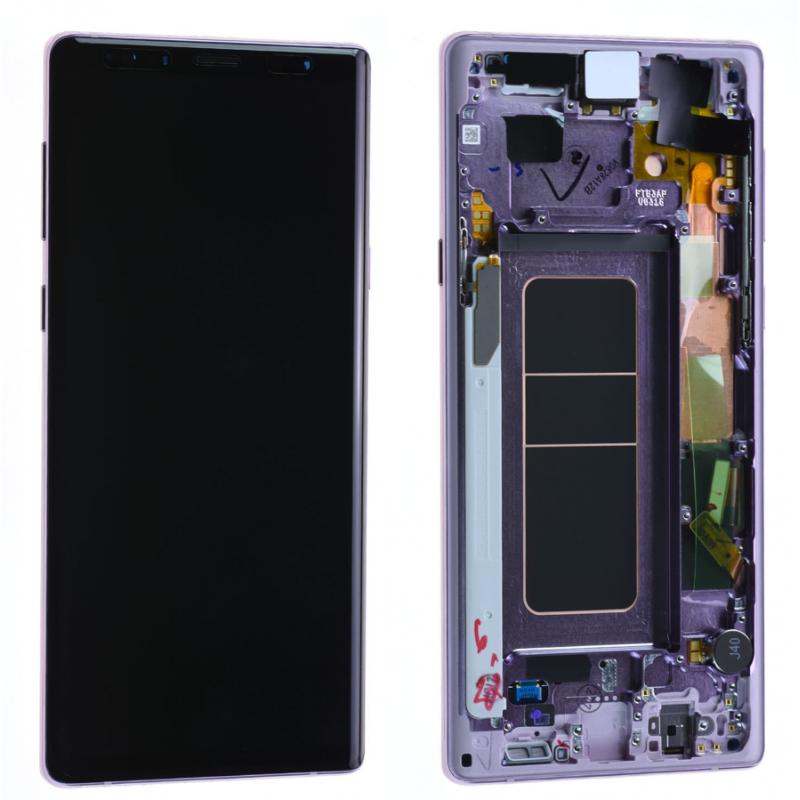 Ecran Complet Samsung Galaxy Note 9 (N960F) Mauve