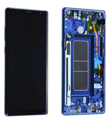 Ecran Complet Samsung Galaxy Note 8 (N950F) Bleu