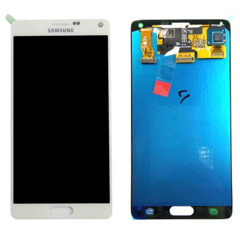 Ecran Samsung Galaxy Note 4 (N910F) Blanc