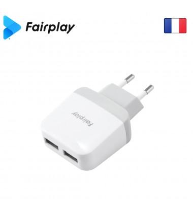 Adaptateur Secteur Fairplay H01A USB x 2