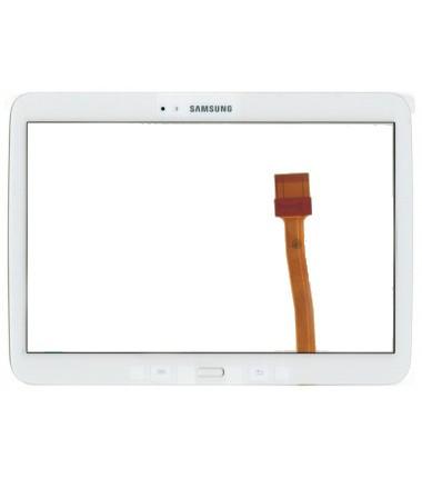 Vitre tactile pour Samsung Galaxy Tab 3 10.1 (P5200/5210/5220) Blanc