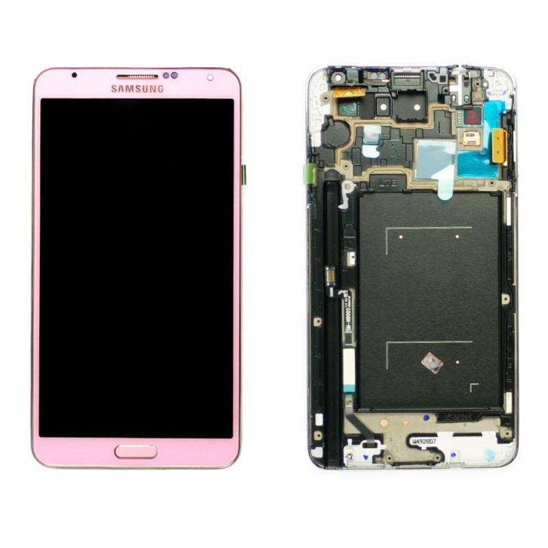 Ecran Samsung Galaxy Note 3 (N9005) Rose