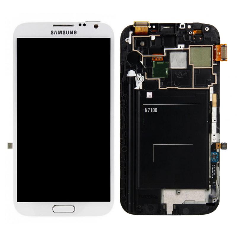 Ecran Samsung Galaxy Note 2 (N7100) Blanc