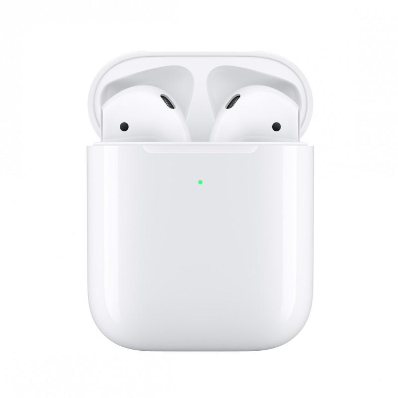 AirPods Apple avec boîtier de charge sans fil