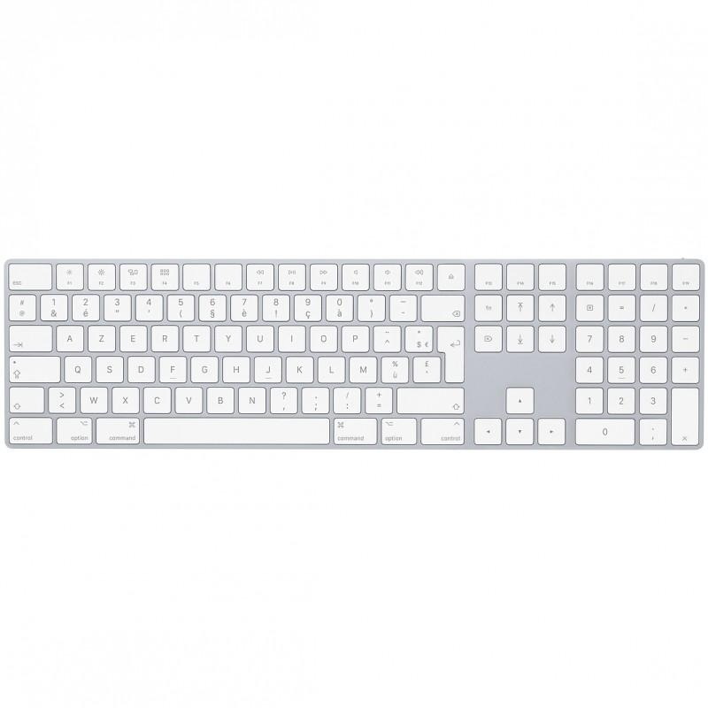 Magic Keyboard Apple avec pavé numérique Argent