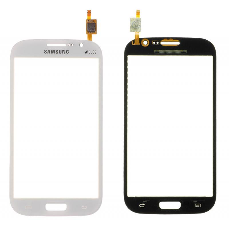 Vitre Tactile Samsung Galaxy Grand Plus (i9060i) Blanc