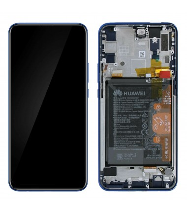 Ecran Huawei Complet P Smart Z Bleu