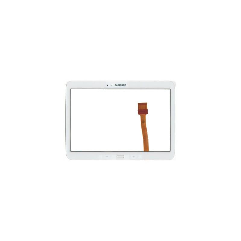 Vitre tactile pour Samsung Galaxy Tab 2 10.1 (N8000/N8010/P5100/P5110) Blanc