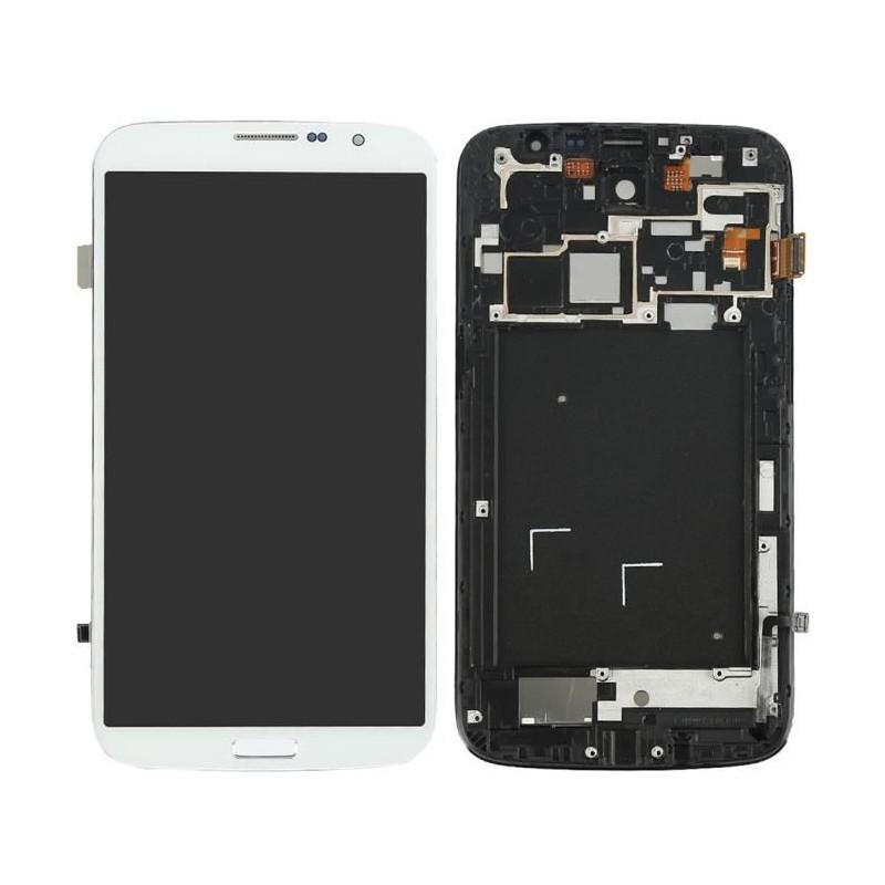 Ecran Complet Samsung Galaxy MEGA (i9205) Blanc