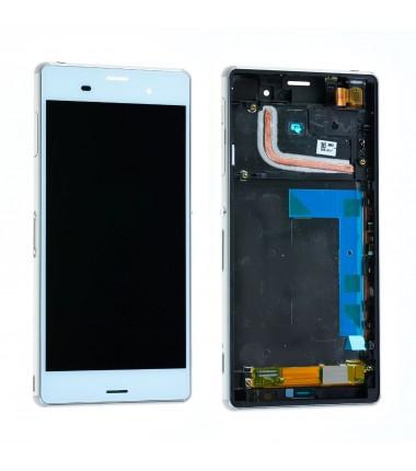 Ecran Complet pour Xperia Z3 (D6603,D6643,D6653) Blanc