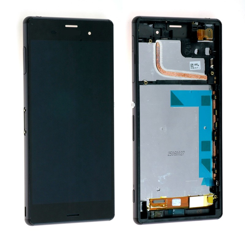 Ecran Complet pour Xperia Z3 (D6603,D6643,D6653) Noir