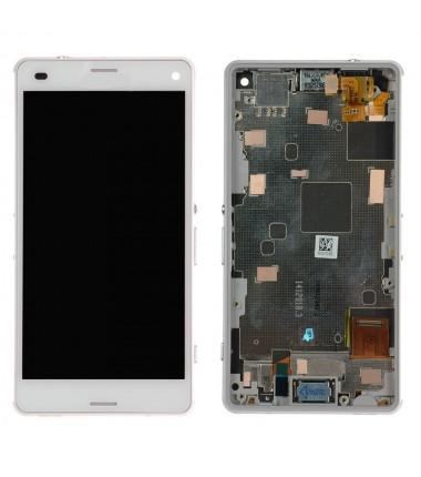 Ecran Complet pour Xperia Z3 Compact (D5803,D5833) Blanc