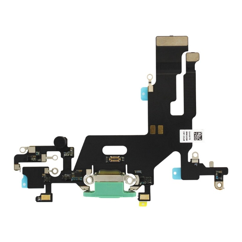 Connecteur de charge iPhone 11 Vert