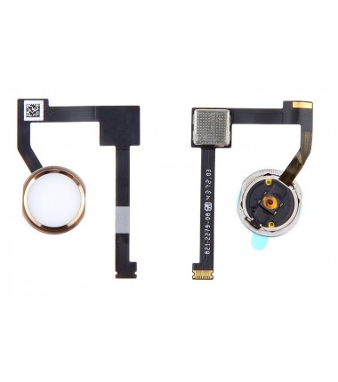 "Bouton Home complet pour iPad Air 2, iPad Mini 4, iPad Pro 12.9"" Or"
