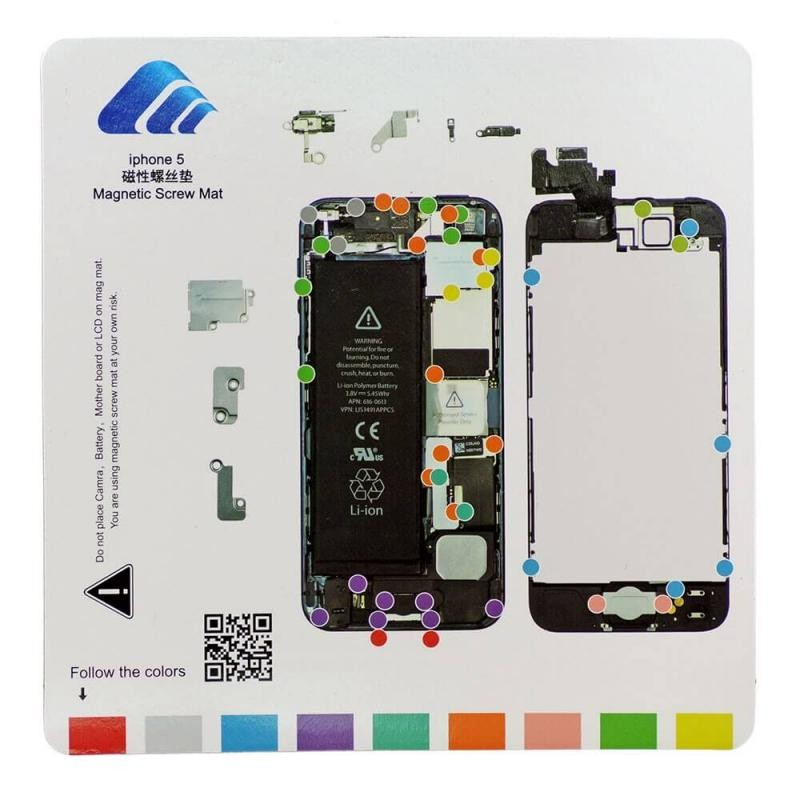 Organisateur de vis iScrews iPhone 5