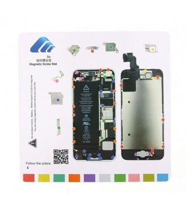 Organisateur de vis iScrews iPhone 5C