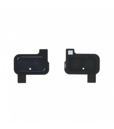 Lentille caméra Complet arrière Galaxy J6+ 2018 (J610F) Noir