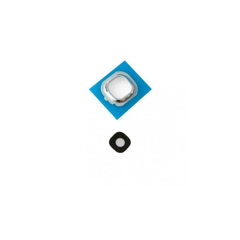 Lentille caméra arrière Galaxy J7 2016 (J710F) Blanc