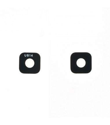 Lentille caméra arrière Galaxy A6 2018 Noir