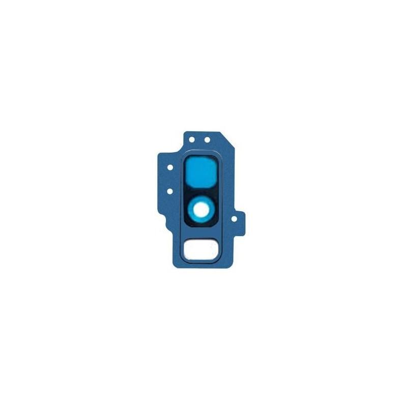 Lentille caméra arrière complète Galaxy S9 (G960F) Bleu